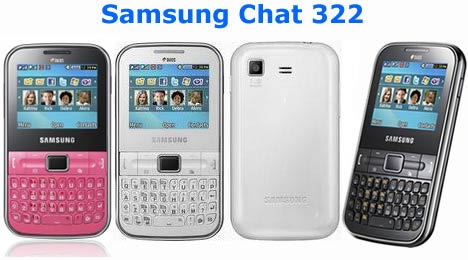 Samsung Ch@t 322 Duos